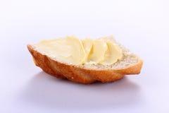 Manteiga com pão Fotografia de Stock Royalty Free