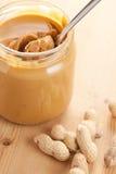 Manteiga de amendoim Imagem de Stock
