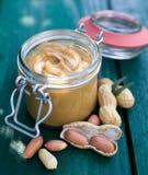 Manteiga de amendoim Fotografia de Stock