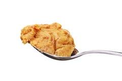 Manteiga de amendoim Crunchy fotos de stock