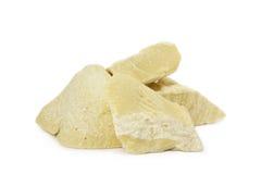 Manteiga de cacau orgânica crua Fotos de Stock