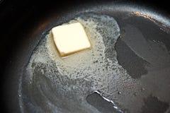 Manteiga de derretimento Imagem de Stock