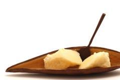 Manteiga de Shea Foto de Stock