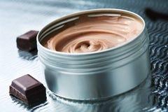Manteiga do chocolate Imagens de Stock