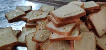 Manteiga do pão imagem de stock