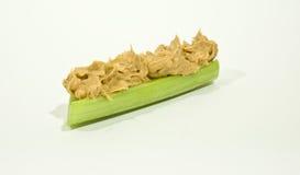 Manteiga e aipo de amendoim Imagens de Stock Royalty Free