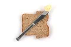 Manteiga e pão Imagem de Stock