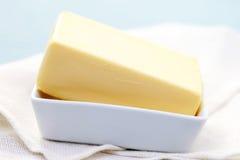 Manteiga fresca Imagem de Stock Royalty Free