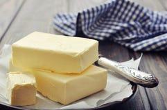 Manteiga fresca foto de stock