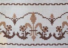 Mantel bordado Imagen de archivo libre de regalías