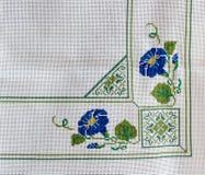Mantel bordado Fotografía de archivo