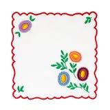 Mantel bordado Imagen de archivo
