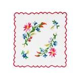 Mantel bordado Foto de archivo libre de regalías