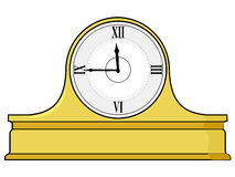Mantel clock Stock Images