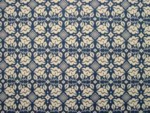 Mantel del estampado de flores Imagen de archivo libre de regalías