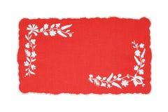 Mantel húngaro bordado Foto de archivo