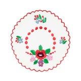 Mantel húngaro bordado Imagen de archivo libre de regalías