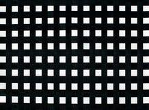 Mantel linear blanco y negro Fotografía de archivo