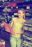 Manteles de la cosecha del cliente Imagen de archivo libre de regalías
