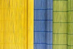 Manteles de madera del color Fotografía de archivo libre de regalías