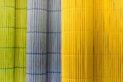 Manteles de madera del color rodados Fotos de archivo libres de regalías