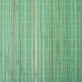 Manteles verdes de bambú Foto de archivo