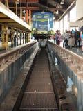 Mantenga el túnel para las locomotoras eléctricas Imagenes de archivo