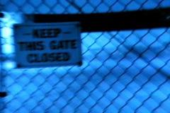 Mantenga esta puerta cerrada almacen de video