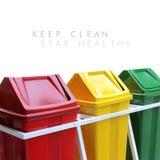 Mantenga limpio, estancia sana Imágenes de archivo libres de regalías