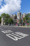 Mantenha claramente para assinar dentro Londres Fotografia de Stock