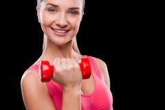 Mantenha seu ajuste do corpo! Imagens de Stock Royalty Free