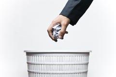 Mantenha sua cidade limpa! Imagens de Stock