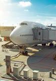 Mantenimiento de aviones Fotografía de archivo libre de regalías