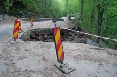 Mantenimiento de carreteras Imagen de archivo
