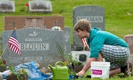 Mantenimiento del Memorial Day Fotos de archivo libres de regalías