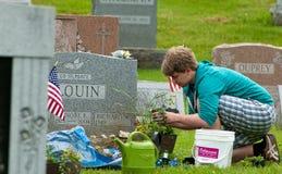 Mantenimiento del Memorial Day Foto de archivo libre de regalías