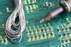 Mantenimiento electrónico Imagen de archivo