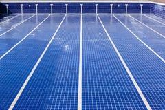 Mantenimiento vacío de la piscina Imagenes de archivo