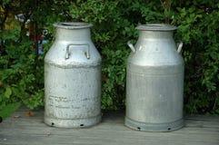 Mantequera de leche Imagen de archivo