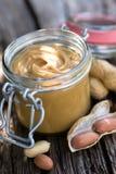 Mantequilla de cacahuete Fotografía de archivo