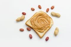 Mantequilla de cacahuete Foto de archivo