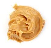 Mantequilla de cacahuete Foto de archivo libre de regalías