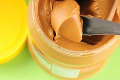 Mantequilla de cacahuete Imagenes de archivo