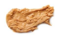 Mantequilla de cacahuete cremosa fotos de archivo libres de regalías