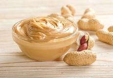 Mantequilla de cacahuetes fotos de archivo libres de regalías