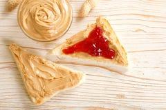 Mantequilla de cacahuetes Imagen de archivo