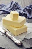Mantequilla fresca Fotos de archivo libres de regalías