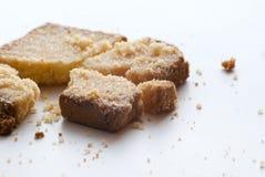 Mantequilla y azúcar de la tostada Fotos de archivo