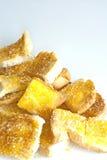 Mantequilla y azúcar de la tostada Imagen de archivo