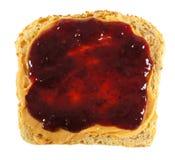 Mantequilla y jalea de cacahuete foto de archivo libre de regalías